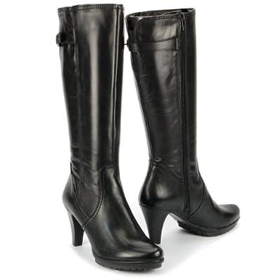 tamaris damen winter high heels halbschaft stiefel. Black Bedroom Furniture Sets. Home Design Ideas