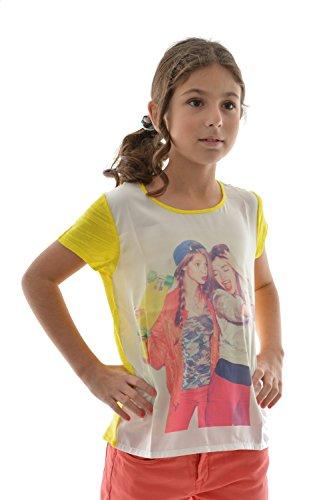 T-shirt a maniche corte con Le Temps Des Cerises selfiegi, colore: giallo giallo 16 anni