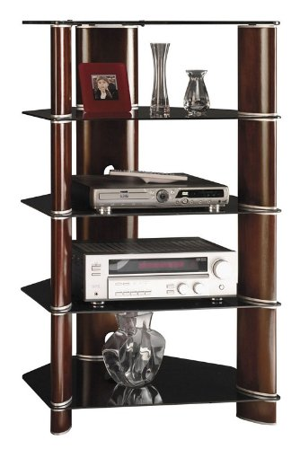 Cheap Bush Segments Entertainment Audio Tower Rack Cabinet (AZ31-10956)