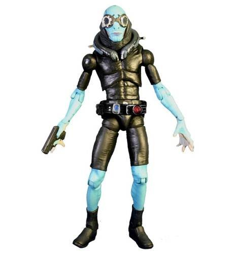 Buy Low Price Mezco Hellboy 2 The Golden Army Series 1 Abe Sapien Figure (B001BNR1KC)