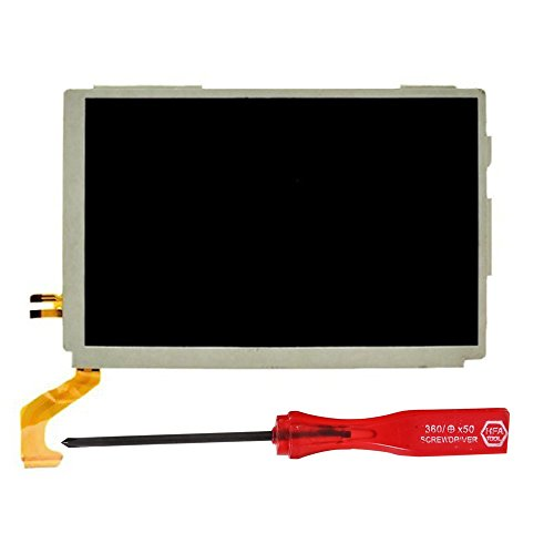 YTTL® Replacement Part Top Upper LCD Screen Display For Nintendo 3DS XL / LL+Tool+Screen Protector (Nintendo Replacement Parts compare prices)