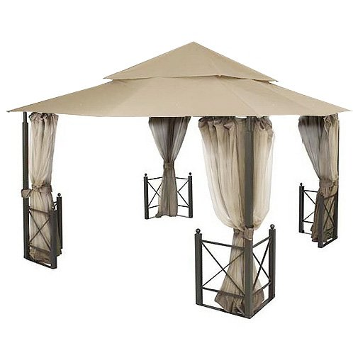 garden winds riplock fabric replacement canopy for harbor