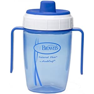 how to use dr brown sippy cup