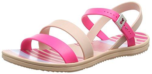 ZaxyUrban - Sandali donna , Rosa (Pink (Pink/Nude)), 43