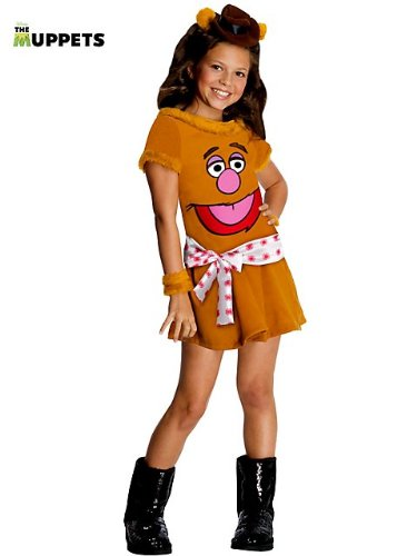 The Muppets Fozzie The Bear Girls Costume