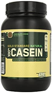 Optimum Nutrition 100% Casein Protein, Chocolate Creme, 2 Pound