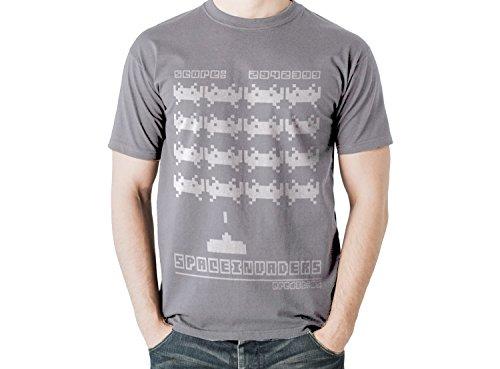 space-invaders-retro-t-shirt-old-school-atari-space-invaders-10-diversi-colori-misure-s-xxl-grigio-x