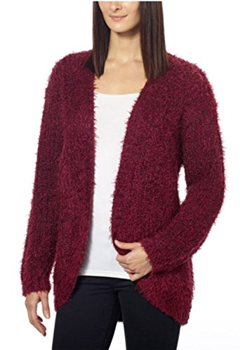kensie-womens-open-front-eyelash-cardigan-x-large-wine