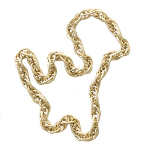 Marco Francisco Goldtone Frosted Chain Necklace