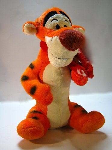 Winter Tigger Plush with Scarf - 1