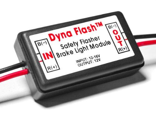 Brake Light Flasher Lamp Module Flasher Car Truck Motorcycle Scooter Rearalert