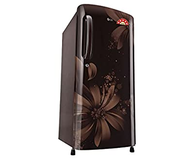 LG GL-B201AHAN.AHAZEBN Direct-cool Single-door Refrigerator (190 Ltrs, 5 Star Rating, Hazel Aster)
