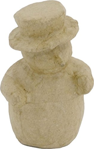 Decopatch Mache Snowman, Brown