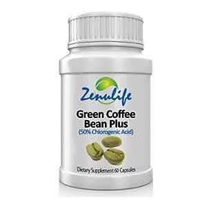 Pure green coffee bean plus