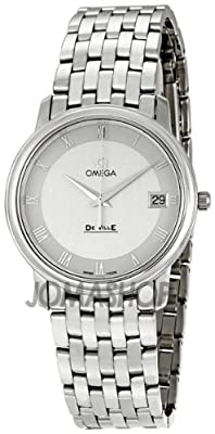 Omega Men's 4510.33 DeVille Silver Dial Watch