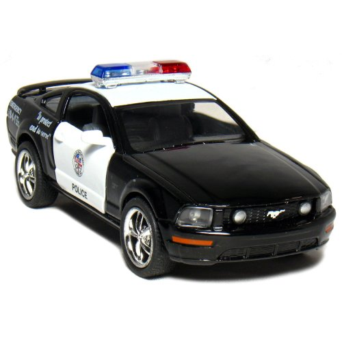 Ford Mustang GT Police 2006 Black & White 1-38 Toywonder (Police Car Doors Open compare prices)