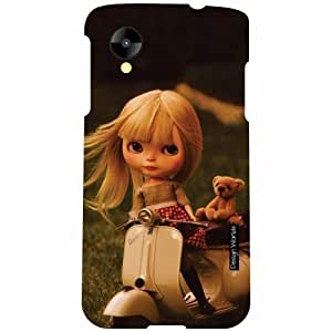Design Worlds LG Nexus 5 LG-D821 Back Cover - Doll Designer Case and Covers