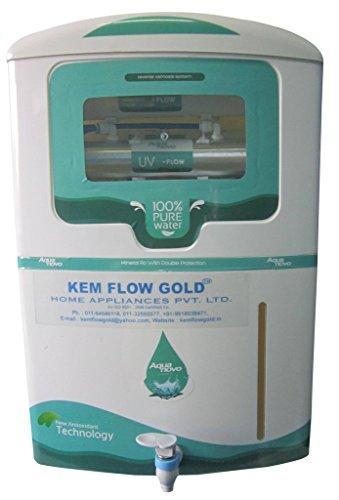 Kem Flow Gold Aqua Novo 10 Litre RO UV Water Purifier