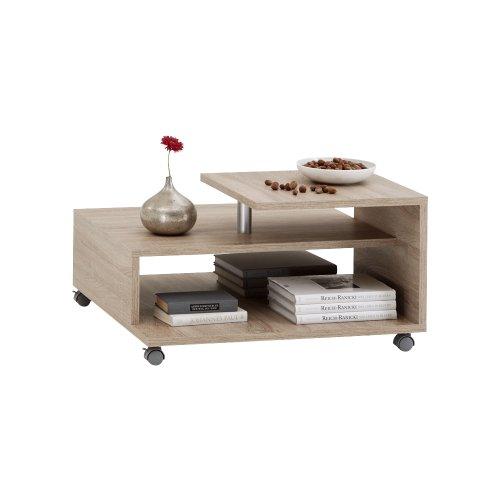 beistelltisch holz auf rollen was. Black Bedroom Furniture Sets. Home Design Ideas