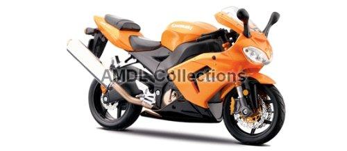 Kawasaki Ninja ZX-10R Orange 1:12 Maisto Diecast Motorcycle Model