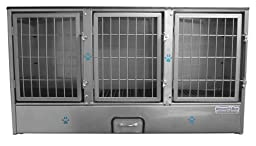 Groomer\'s Best 3-Unit Cage Bank