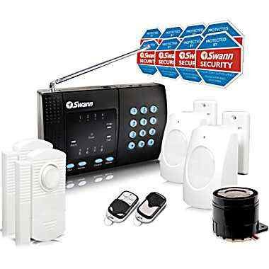Swann Wireless Home Alarm System: 2 Remote Controls, Model# Sw347-Wa2