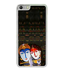Radha Krishna 2D Hard Polycarbonate Designer Back Case Cover for Micromax Canvas Knight 2 E471