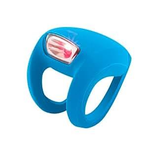 Knog Frog Strobe - Luz trasera LED, color azul