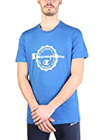 Champion Camiseta Manga Corta (Azul Royal)