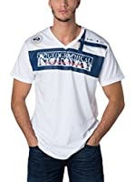 Geographical Norway Camiseta Manga Corta Snht (Blanco)