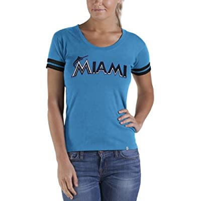 MLB Florida Marlins Women's Showtime Scoop Tee