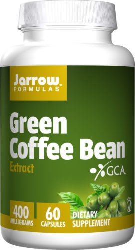 Jarrow Formulas Green Coffee Bean Extract, Supports Cardiovascular Health, 400 mg, 60 Capsules (Green Coffee Bean Extract 400 compare prices)