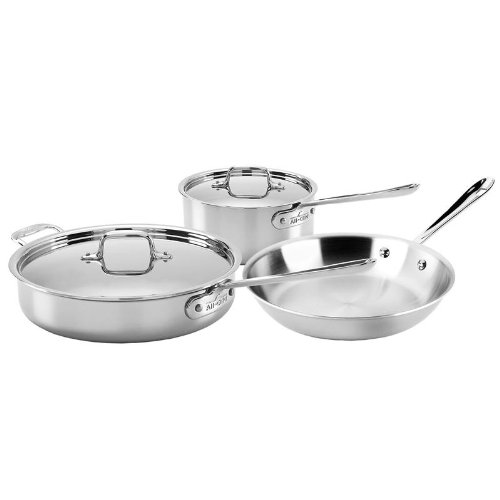 All Clad Stainless Steel 5 Piece Set
