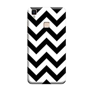 CaseLite Premium Printed Mobile Back Case Cover With Full protection For Vivo V3 Max (Designer Case)