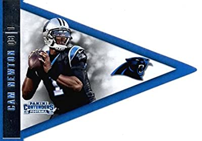 2015 Panini Contenders Pennants #28 Cam Newton Carolina Panthers Football Card-MINT
