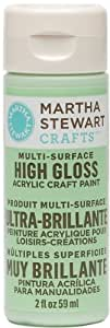 Martha Stewart 32085 2-Ounce Acrylic Gloss Paint, Pea Shoot