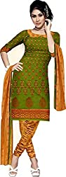 BAPUJI PRINT - WOMEN'S COTTON UNSTITCH DRESS MATERIALS - SE - 012