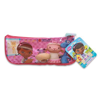 1 piece of DOC McSTUFFINS PVC PENCIL POUCH 2 ASSORTED