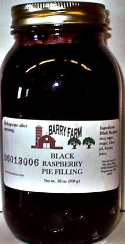 Black Raspberry Pie Filling, 32 fl. Oz.