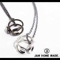 【JAM HOME MADE(ジャムホームメイド)】セイフティーピンベビーリングネックレス