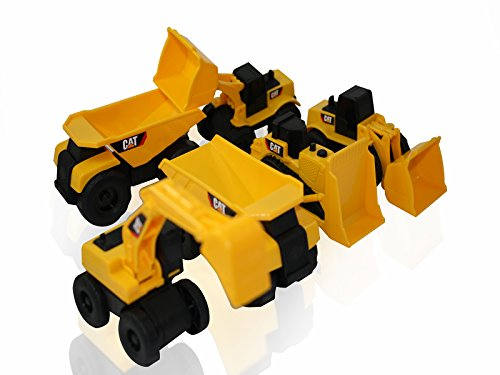 Cat Construction Toys For Toddlers : Toy state cat caterpillar construction toys mini machine