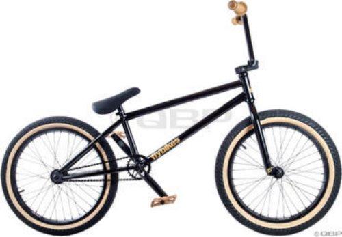 2013 Flybikes Proton Complete BMX Bike Gloss Black RHD