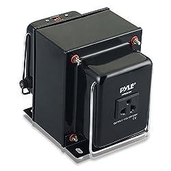 Pyle PVTC2020U Step Up and Step Down 2000 Watt AC 110/220 V Converter Transformer with USB Charging Port
