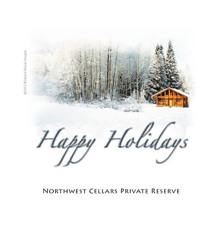 "2012 Northwest Cellars ""Happy Holidays Red"" Columbia Valley Merlot 750 Ml"