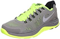 Nike Lunarglide+ 4 Mens Running Shoes 524977-017 Sport Grey 9.5 M US