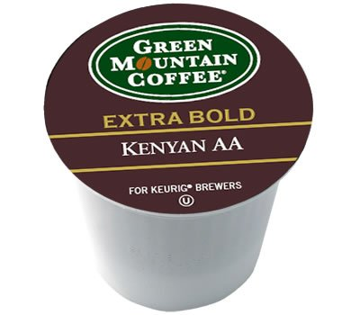 Green Mountain Coffee Extra Bold Kenyan Aa -- 96 K-Cups front-535717