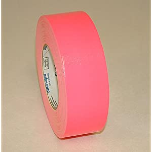 Shurtape PC-619 Fluorescent Duct Tape: 2 in. x 60 yds. (Fluorescent Pink)