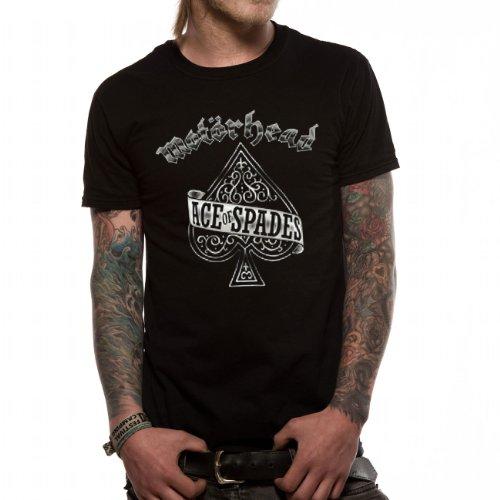 Motörhead - MOTORHEAD - ACE OF SPADES, T-shirt da uomo, nero (schwarz), S