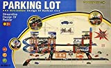 Partner International 126 Pc 3 Storey Garage Parking Lot With 8 Cars New
