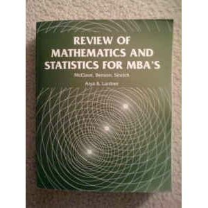 Review of Mathematics and Statistics
